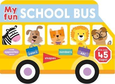 Priddy Books My Fun School Bus Lift-the-flap