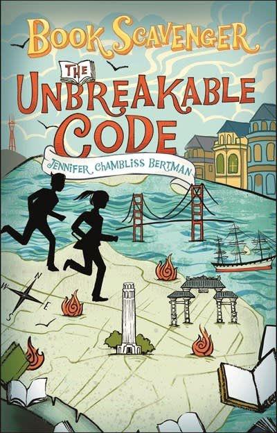 Square Fish Book Scavenger 02 The Unbreakable Code