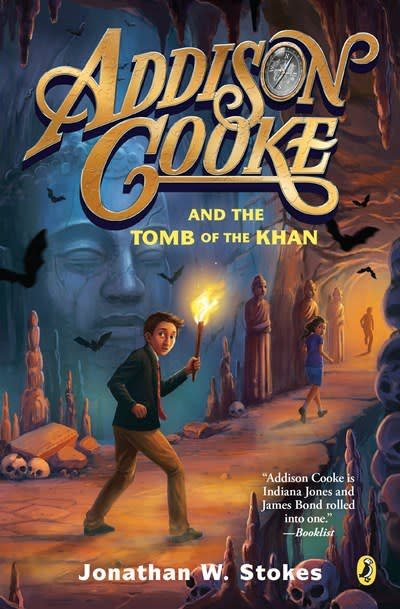 Puffin Books Addison Cooke 02 The Tomb of the Khan