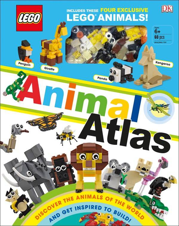 DK Children LEGO Animal Atlas