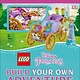 DK Children LEGO Disney Princess: Build Your Own Adventure