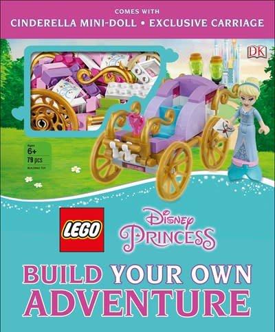 DK Children LEGO Disney Princess: Build Your Own Adventure