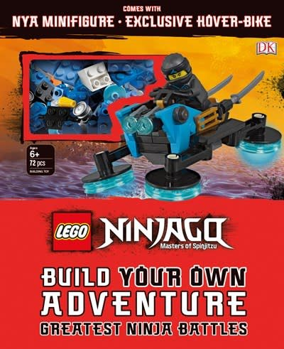 DK Children LEGO NINJAGO Build Your Own Adventure Greatest Ninja Battles