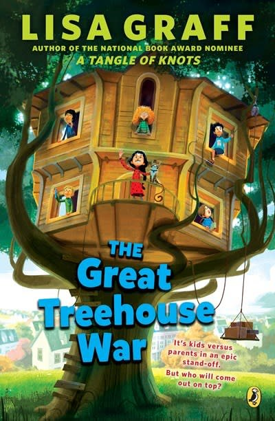 Puffin Books The Great Treehouse War