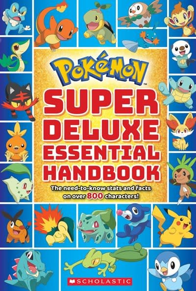 Scholastic Inc. Super Deluxe Essential Handbook (Pokémon)