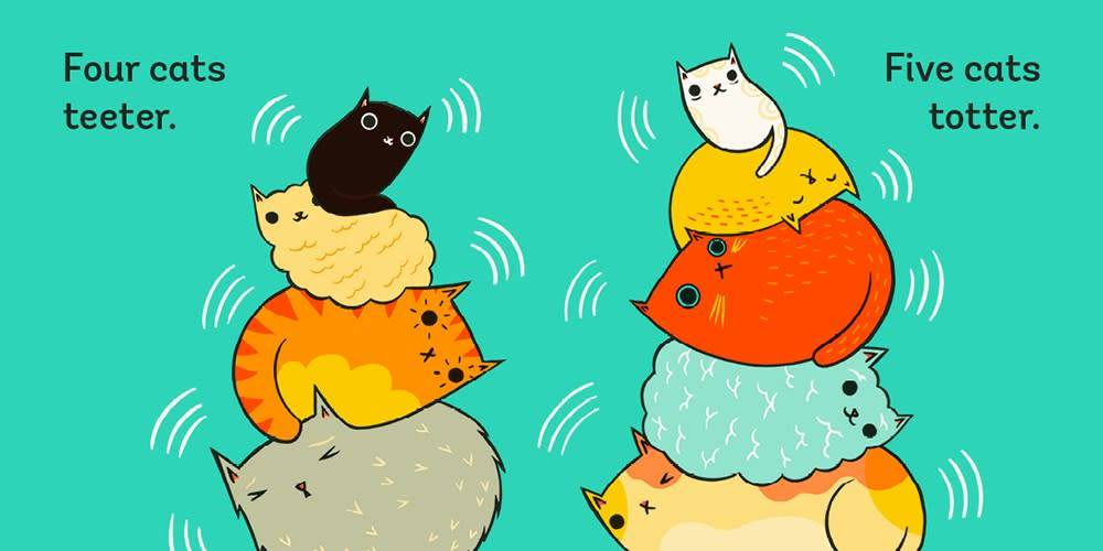 Abrams Appleseed Stack the Cats