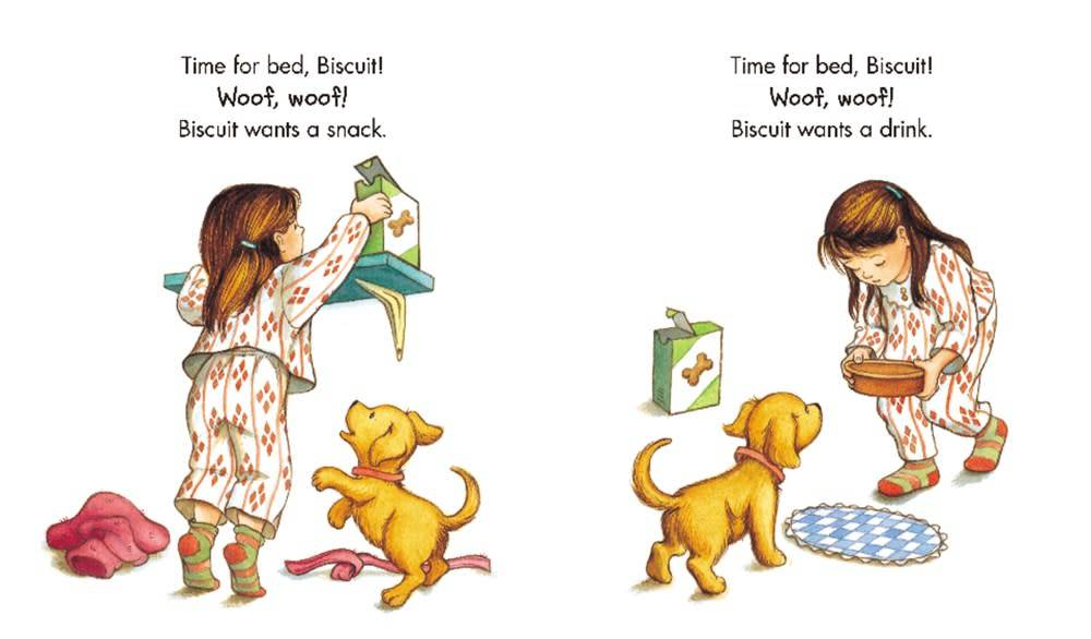 HarperFestival Good Night, Biscuit (Padded Board Book)