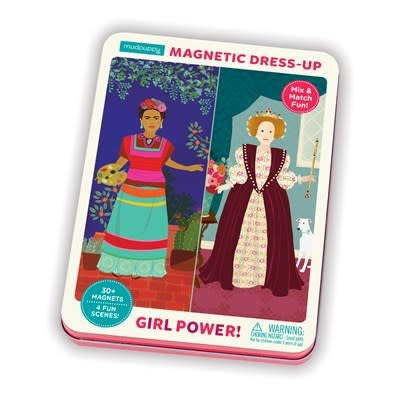 Mudpuppy Girl Power! Magnetic Figures