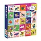 Mudpuppy Birds A to Z 500 Piece Family Puzzle