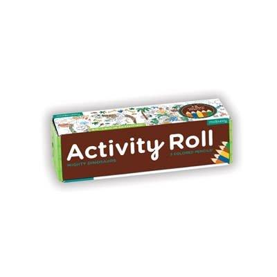 Mudpuppy Mighty Dinosaur Activity Roll
