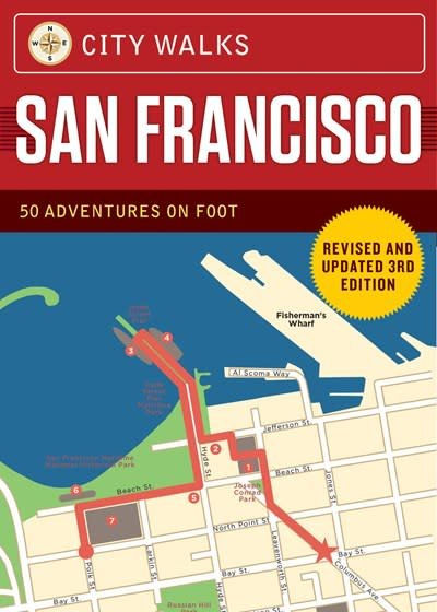 Chronicle Books City Walks Deck: San Francisco (Revised)