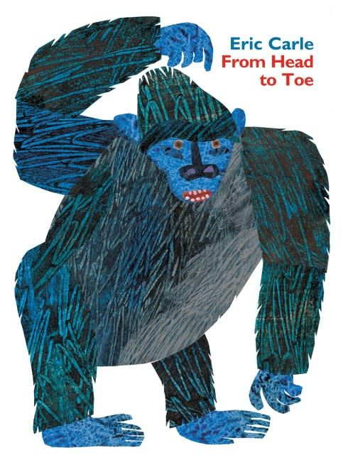HarperFestival From Head to Toe Padded Board Book