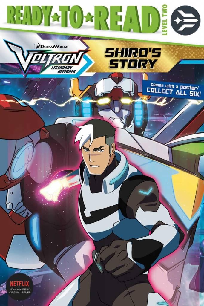 Simon Spotlight Voltron: Legendary Defender: Shiro's Story