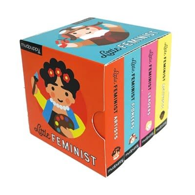 Mudpuppy Little Feminist Board Book Boxed Set (4 Books)