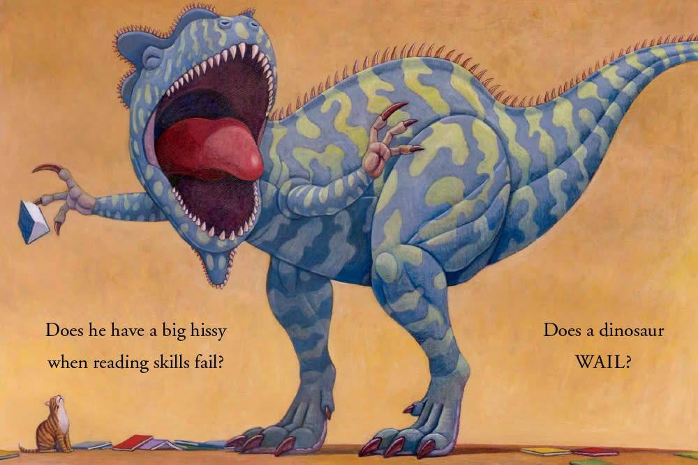 The Blue Sky Press How Do Dinosaurs Learn to Read?