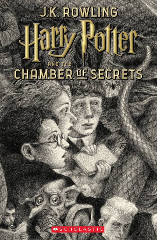 Arthur A. Levine Books Harry Potter 02 The Chamber of Secrets (Selznick Ed.)
