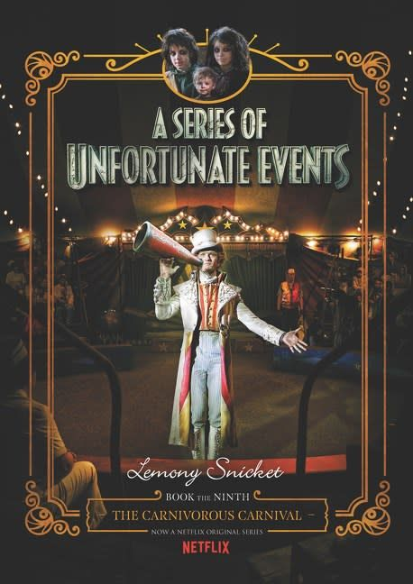 HarperCollins Series of Unfortunate Events 09 Carnivorous Carnival (Netflix)