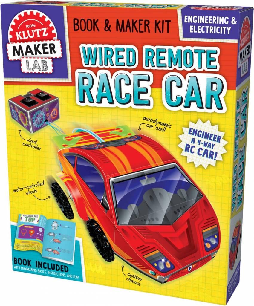 Klutz Klutz Maker Lab: Wired Remote Race Car