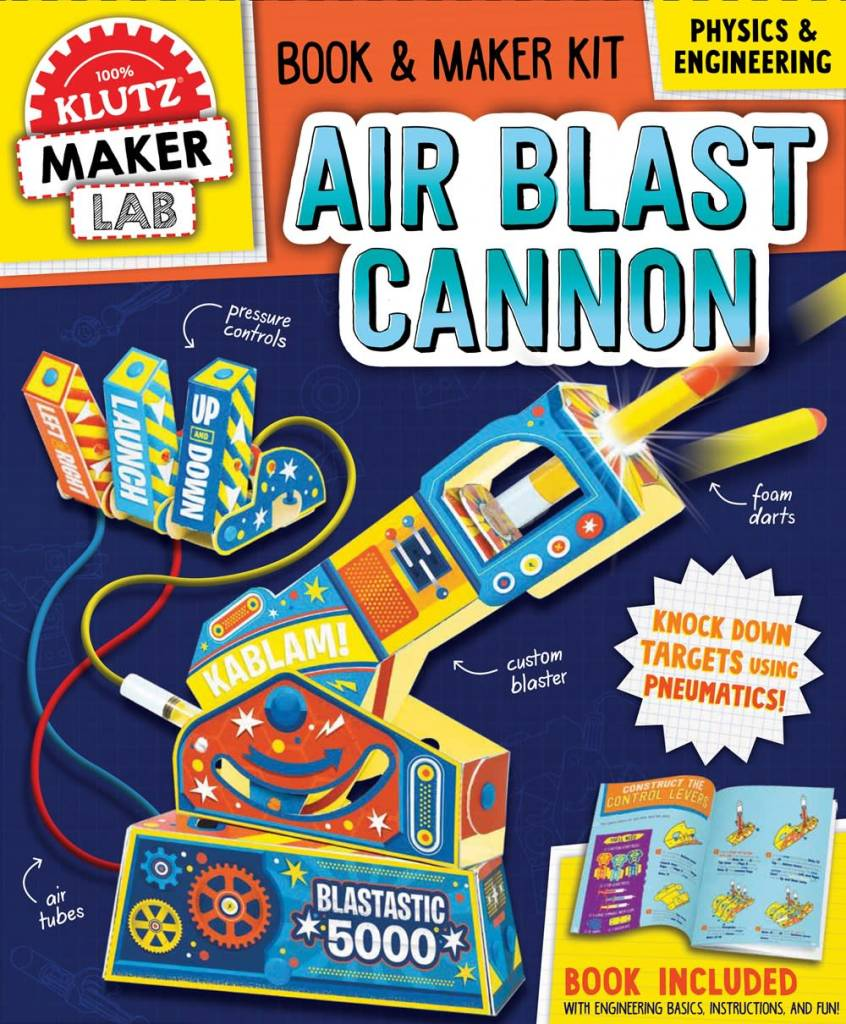 Klutz Klutz Maker Lab: Air Blast Cannon