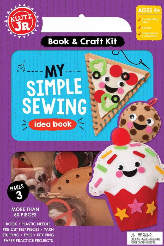 Klutz Klutz Jr.: My Simple Sewing Idea Book (and Craft Kit)