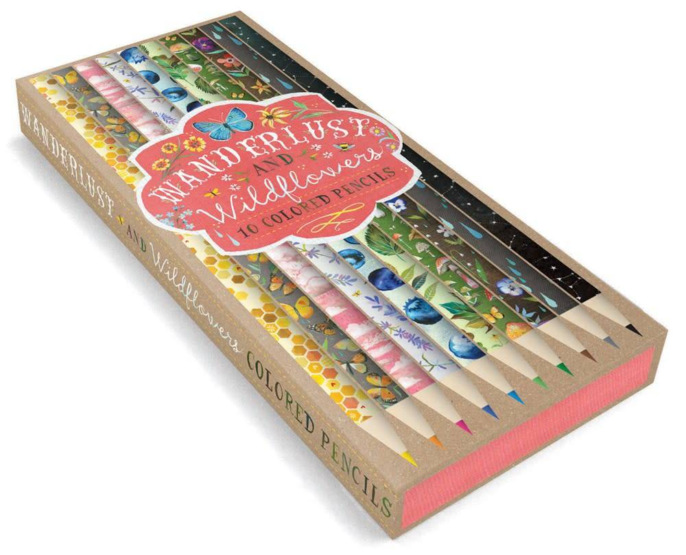 Chronicle Books Wanderlust and Wildflowers: 10 Colored Pencils