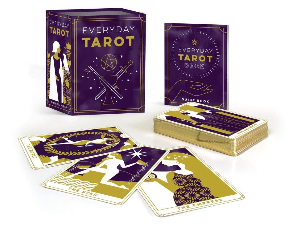 Running Press Miniature Editions Everyday Tarot Mini Kit