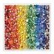 Galison Rainbow Marbles Puzzle (500-Piece Jigsaw)