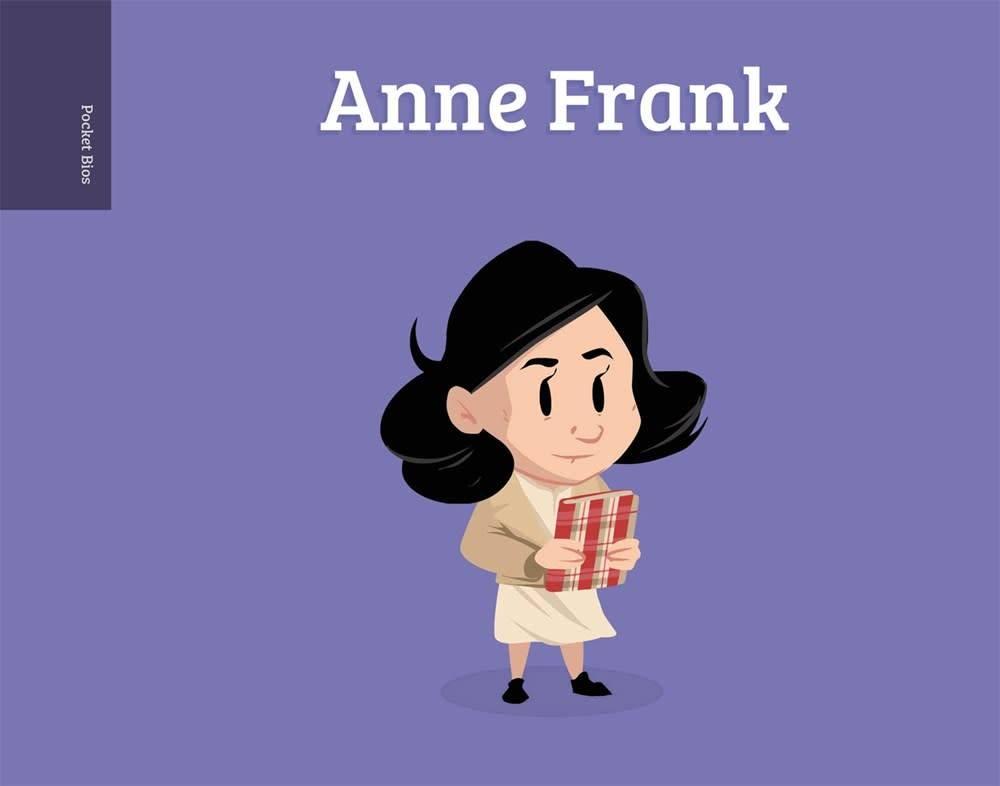 Roaring Brook Press Pocket Bios: Anne Frank