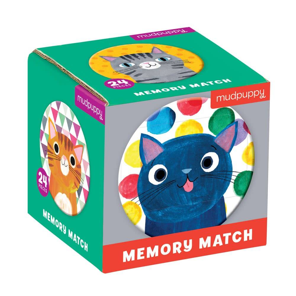 Mudpuppy Cat's Meow Mini Memory Match Game