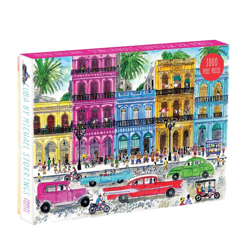 Galison Michael Storrings Cuba (1000 Piece Puzzle)