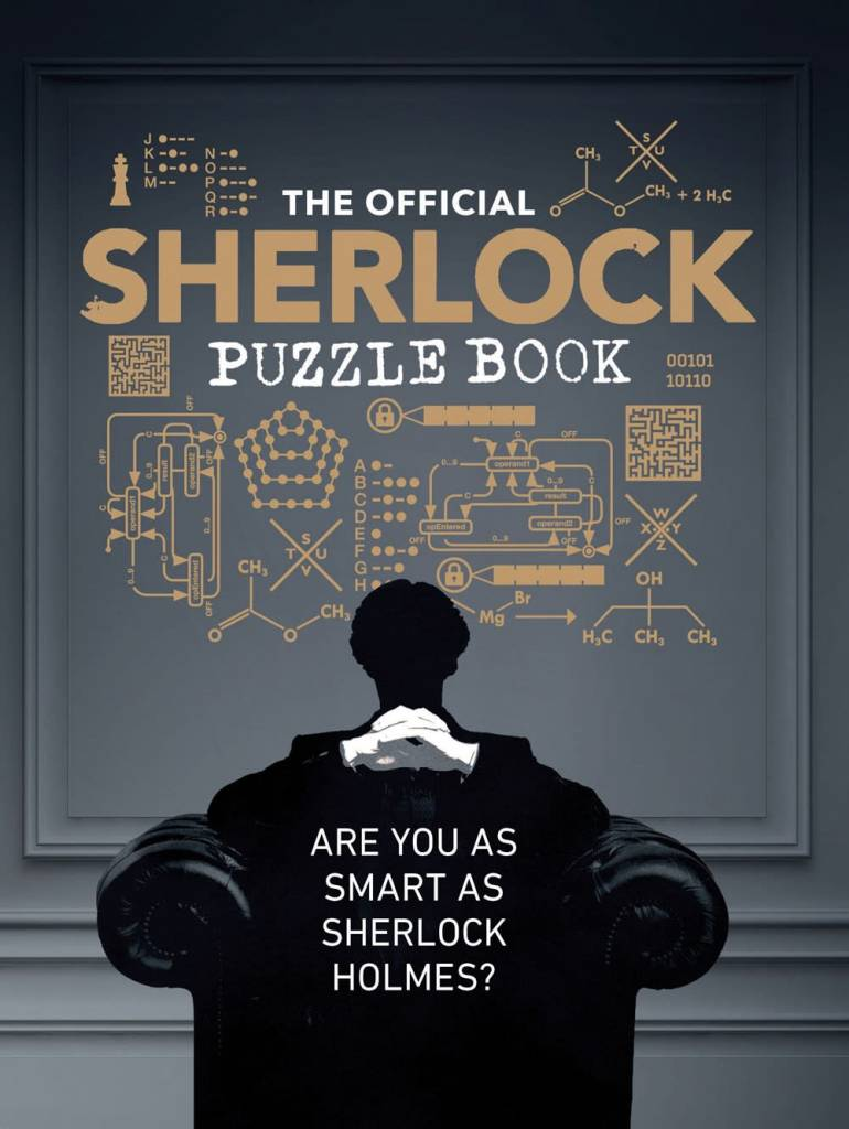 Chronicle Books The Official Sherlock Puzzle Book