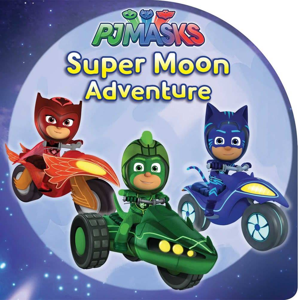 Simon Spotlight PJ Masks: Super Moon Adventure