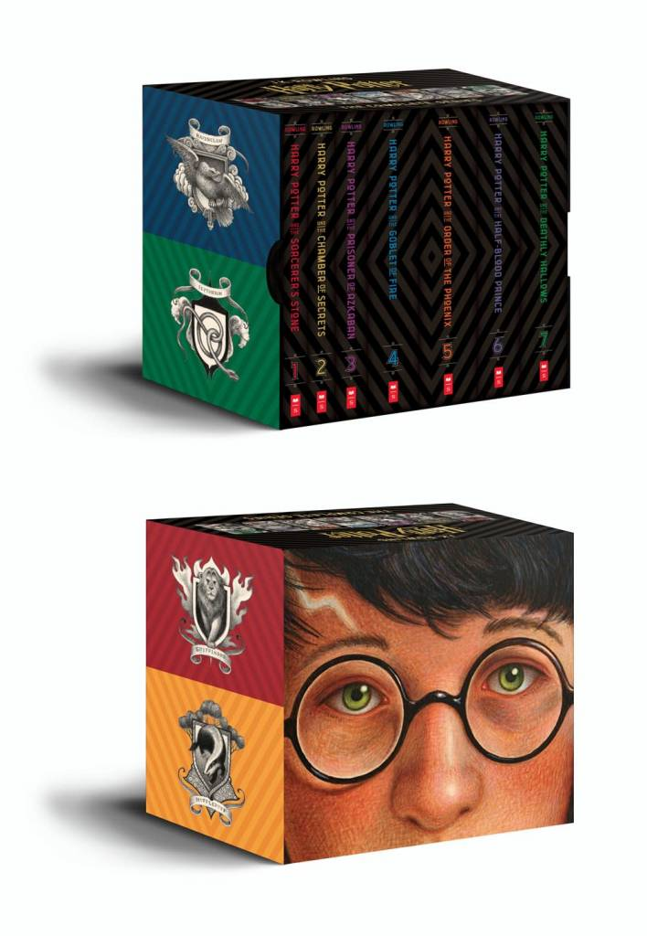 Arthur A. Levine Books Harry Potter Books Special Edition Boxed Set (#1-7)
