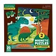 Mudpuppy Magnetic Puzzle: Mighty Dinosaurs (20-Pieces)