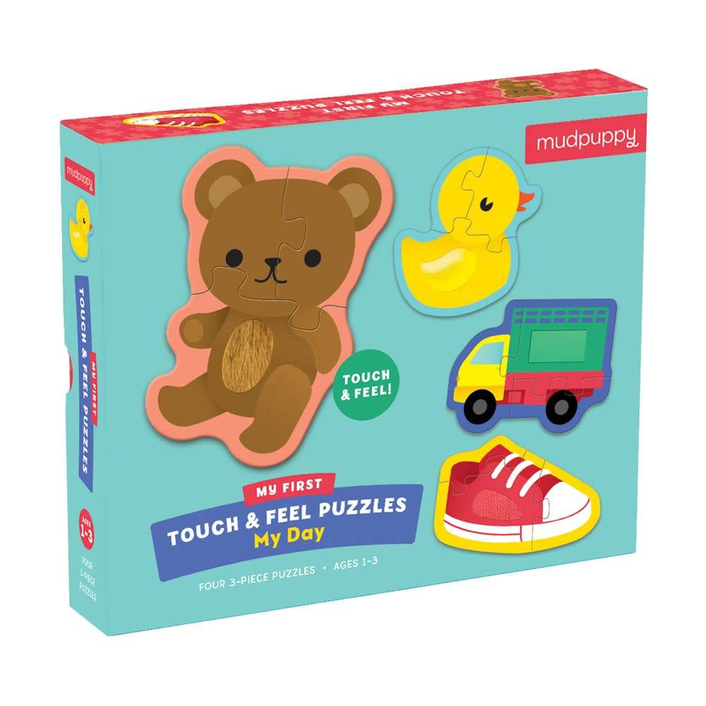 Mudpuppy My Day My First Touch & Feel Puzzle