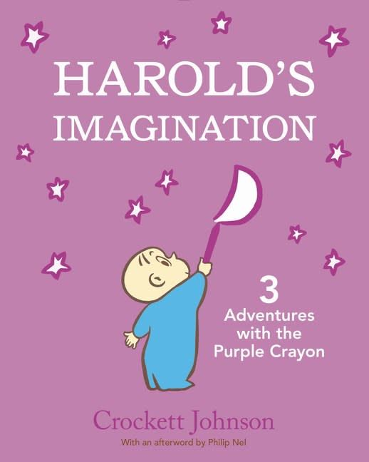 HarperCollins Harold's Imagination: 3 Adventures with the Purple Crayon