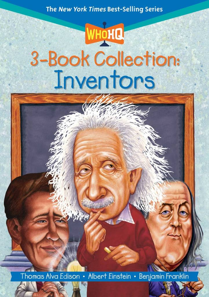 Penguin Workshop Who HQ 3-Book Collection: Inventors