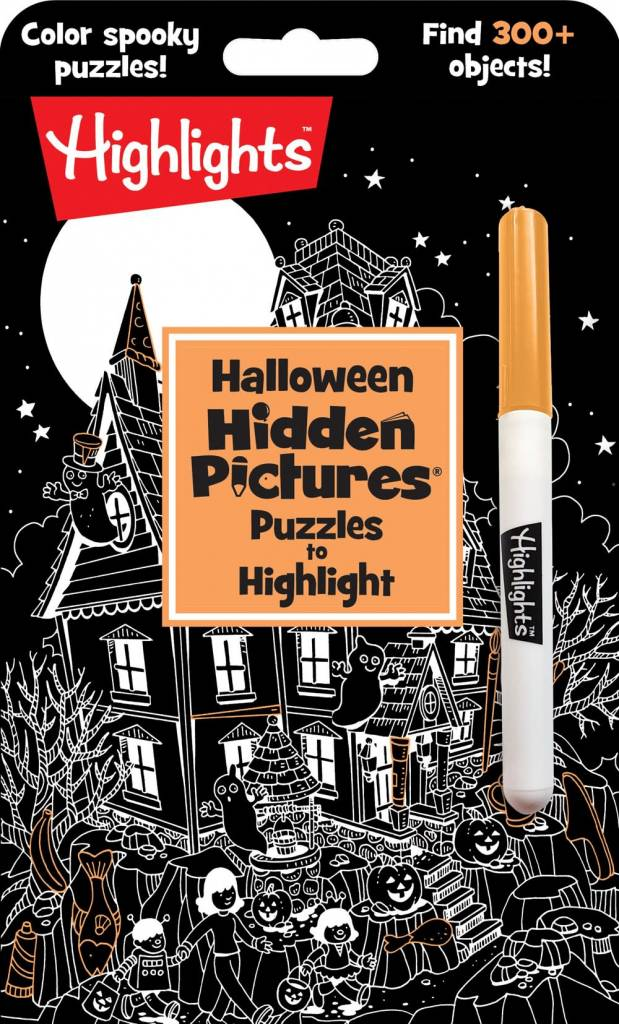 Highlights Press Halloween Hidden Pictures® Puzzles to Highlight