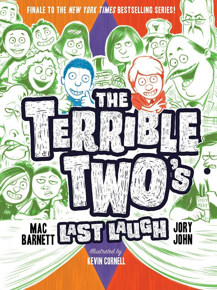 Amulet Books The Terrible Two 04 Last Laugh
