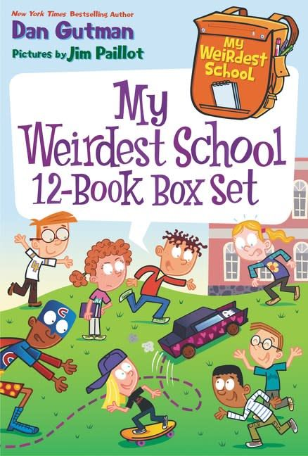 HarperCollins My Weirdest School Boxed Set (12 Books)