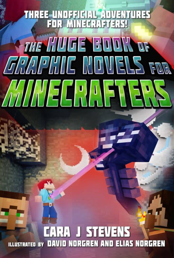 Sky Pony Press The Huge Book of Graphic Novels for Minecrafters