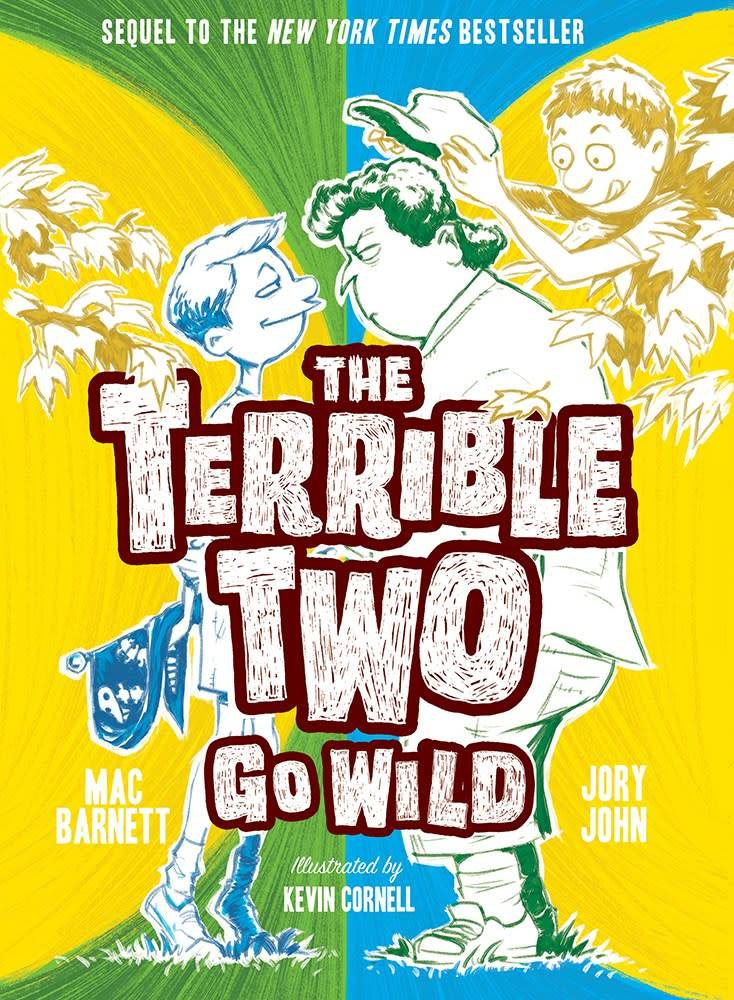 Amulet Paperbacks The Terrible Two 03 Go Wild