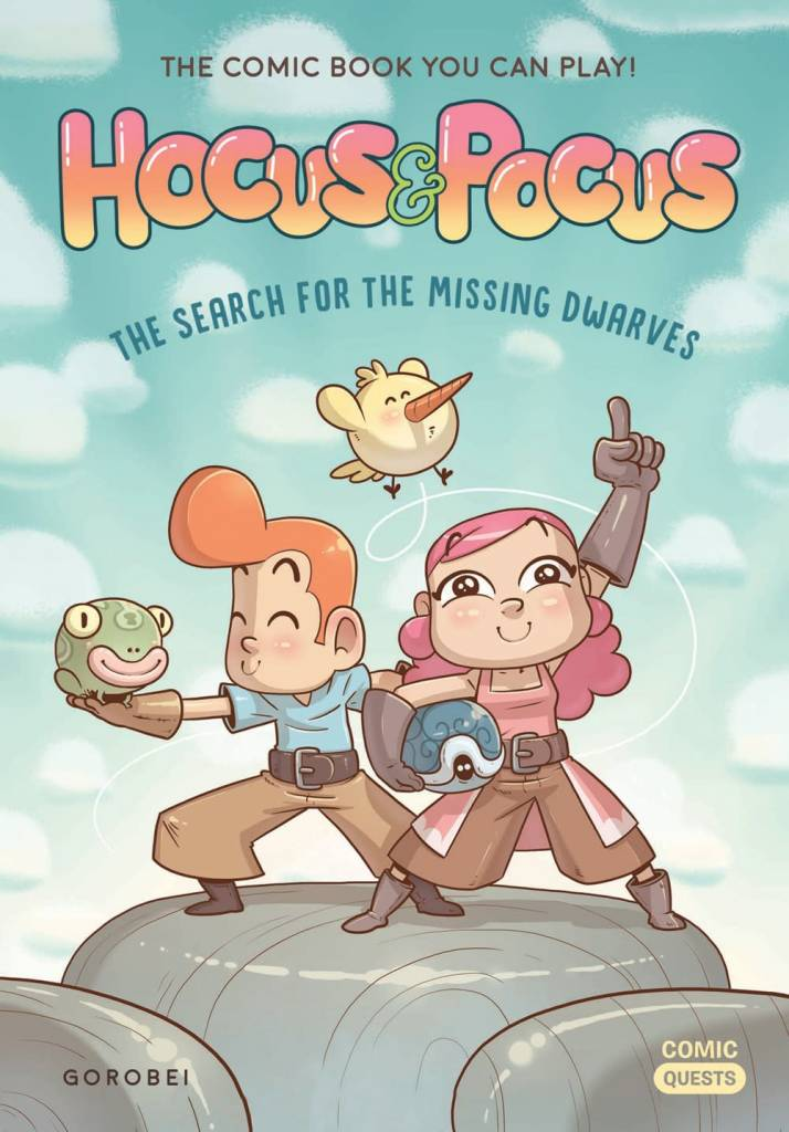 Quirk Books Hocus & Pocus: The Search for the Missing Dwarves
