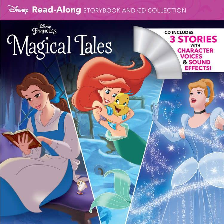 Disney Press Disney Princess Magical Tales Read-Along Storybook and CD Collection