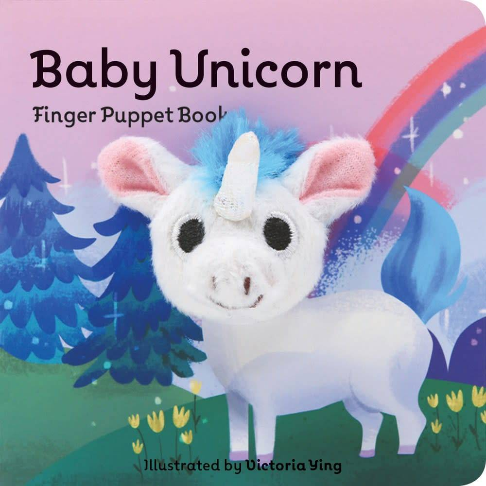 Chronicle Books Baby Unicorn: Finger Puppet Book