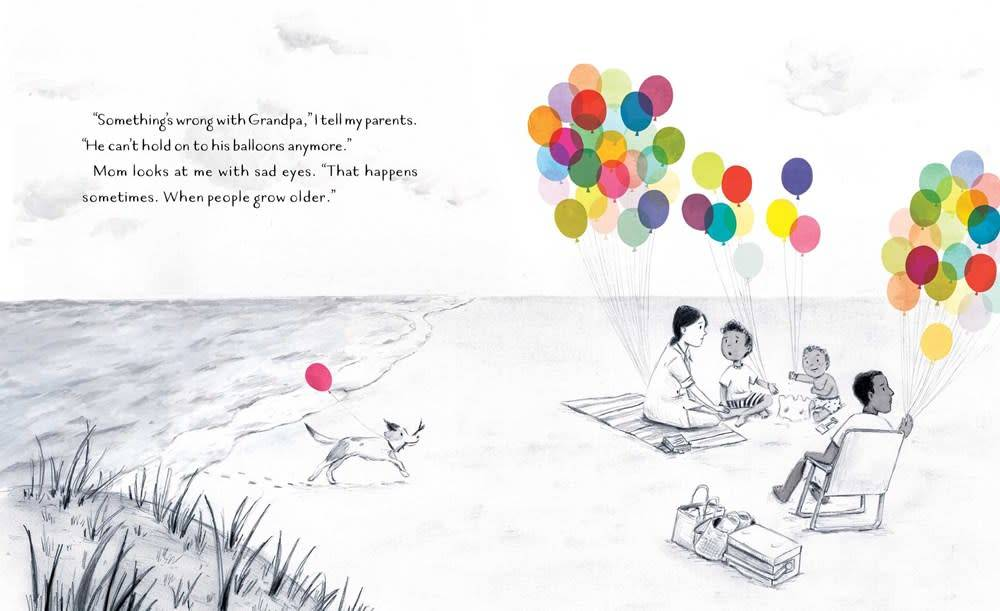 Simon & Schuster Books for Young Readers The Remember Balloons
