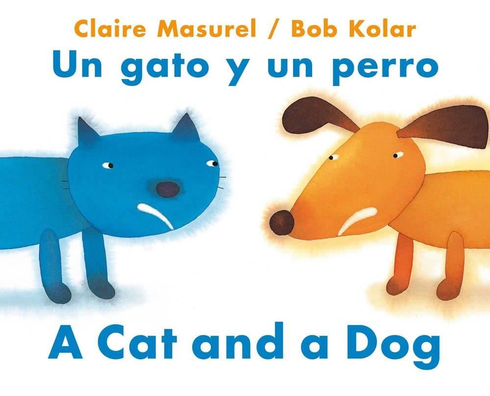 NorthSouth Books A Cat and a Dog / Un gato y un perro