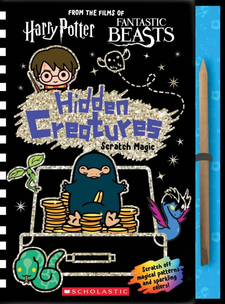 Scholastic Inc. Hidden Creatures: Scratch Magic (J.K. Rowling's Wizarding World)