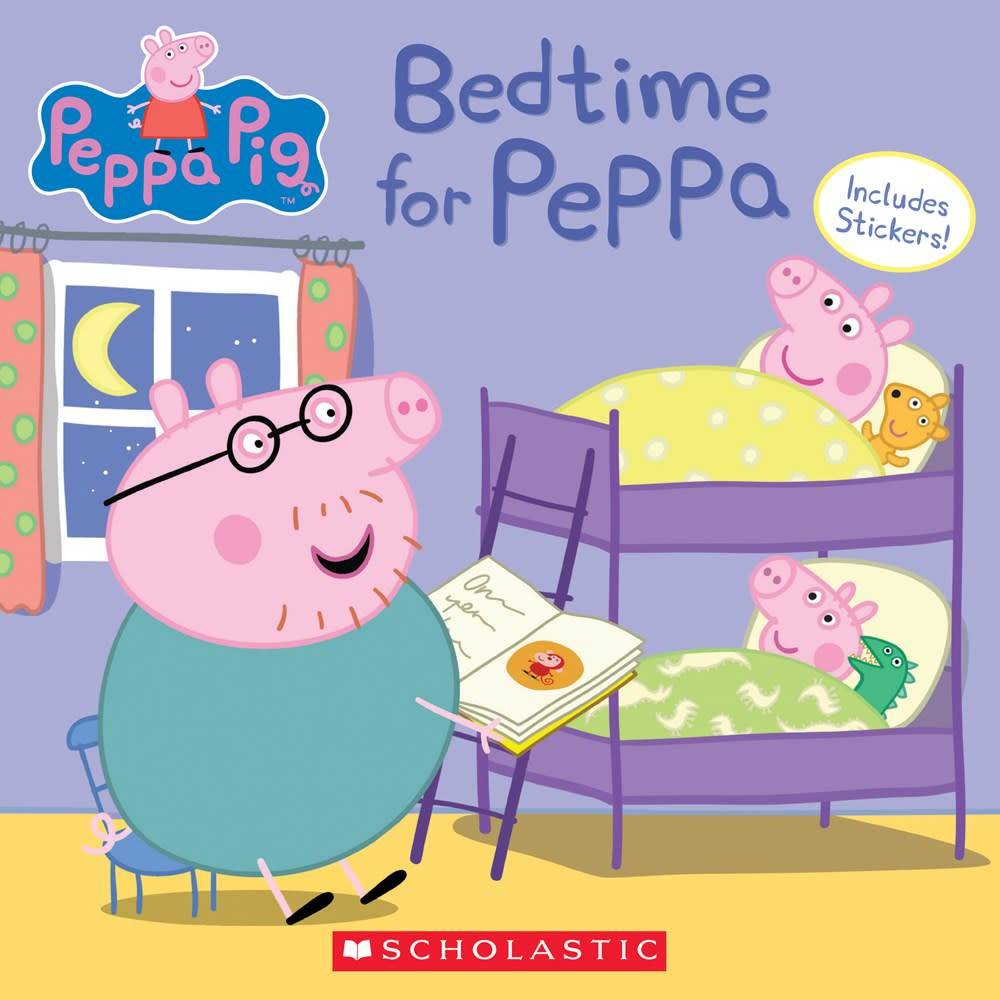 Scholastic Inc. Peppa Pig: Bedtime for Peppa