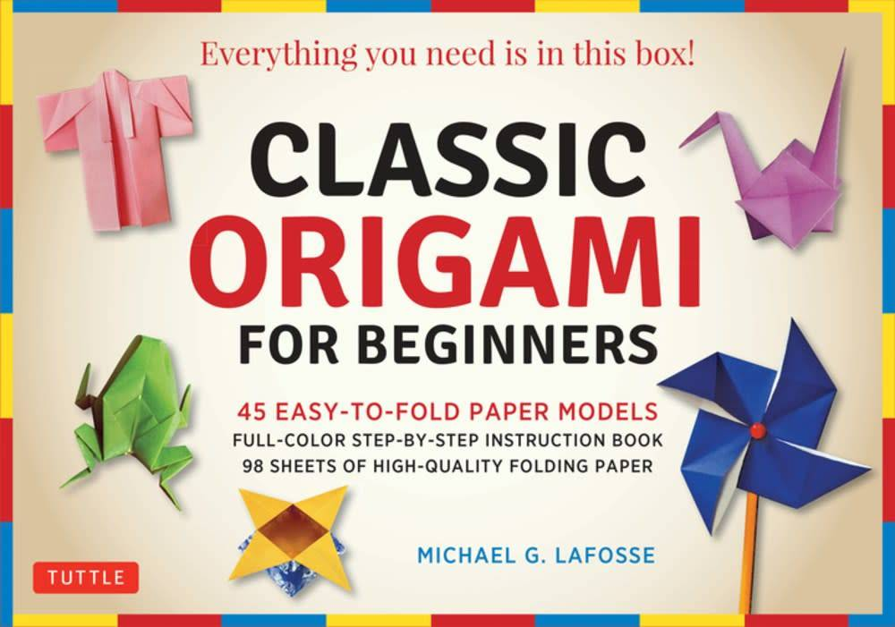 Tuttle Publishing Classic Origami for Beginners Kit